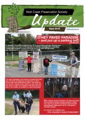 Cover of September 2016 update newsletter